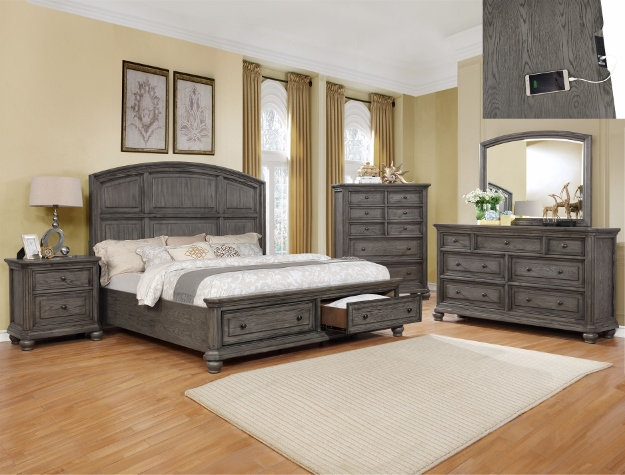 LAVONIA STORAGE BEDROOM SET
