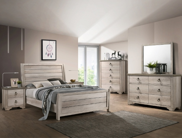 PATTERSON SLEIGH BEDROOM SET