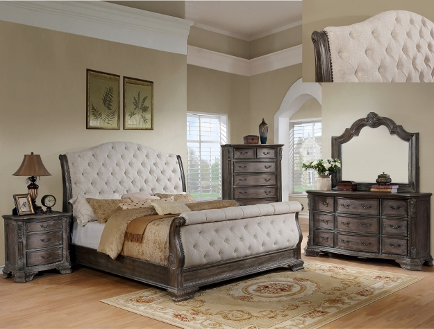 SHEFFIELD GREY BEDROOM SET